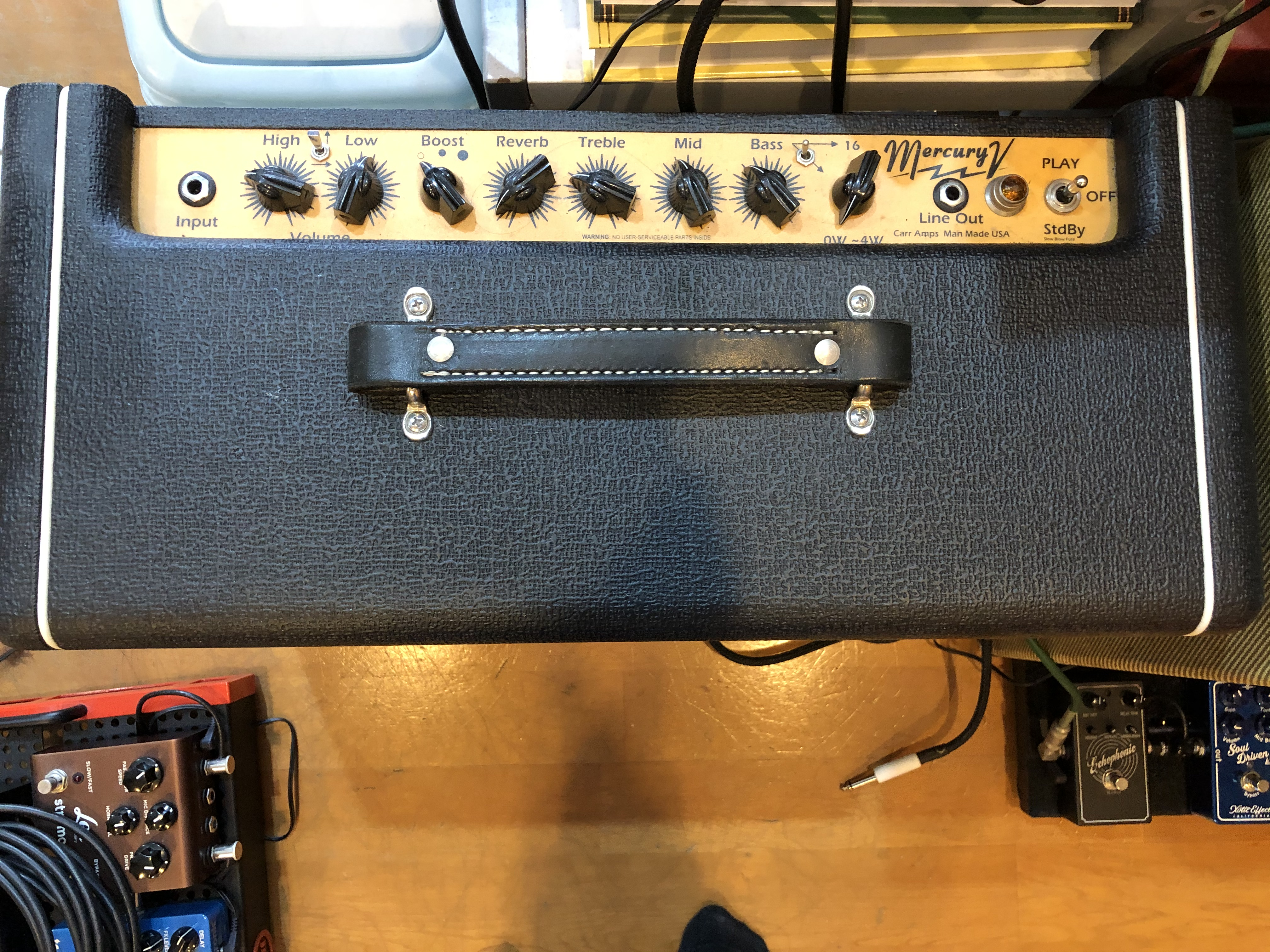 (已售出)Carr Mercury V Amplifier