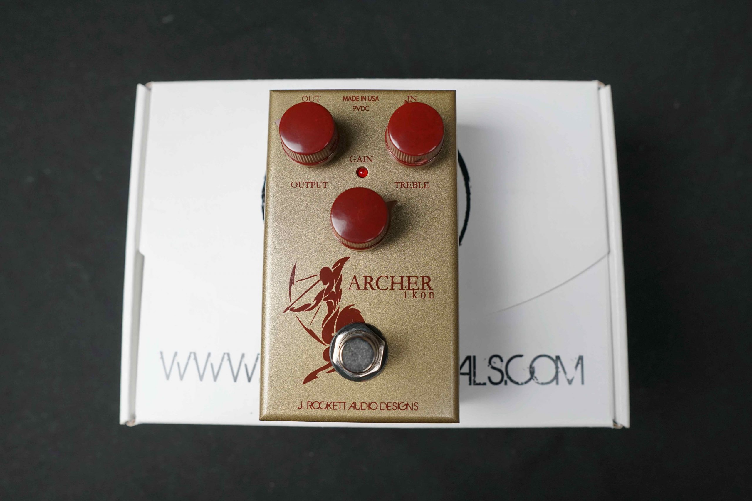 (已售出)J. Rockett Archer Ikon Overdrive/ Boost效果器