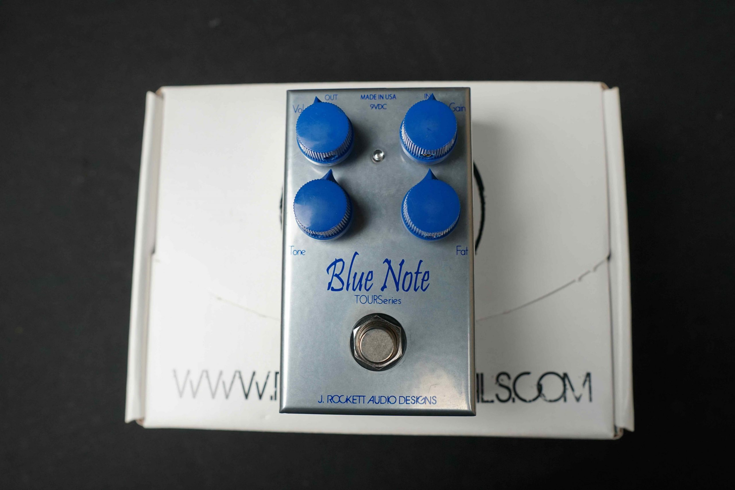 J. Rockett Blue Note Overdrive/ Boost 破音效果器