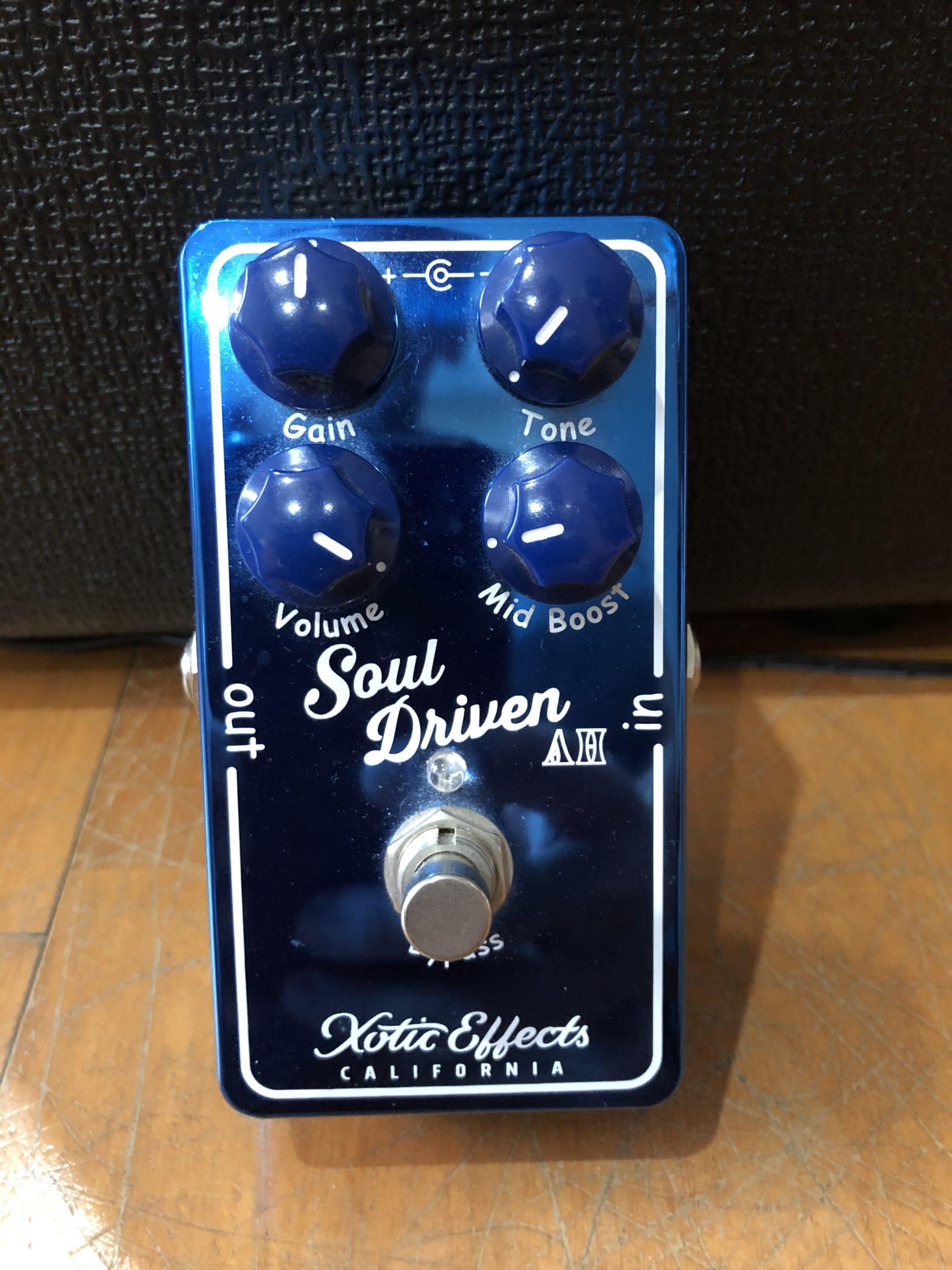 (已售出)Xotic限量版Allen Hinds Soul Driven Overdrive