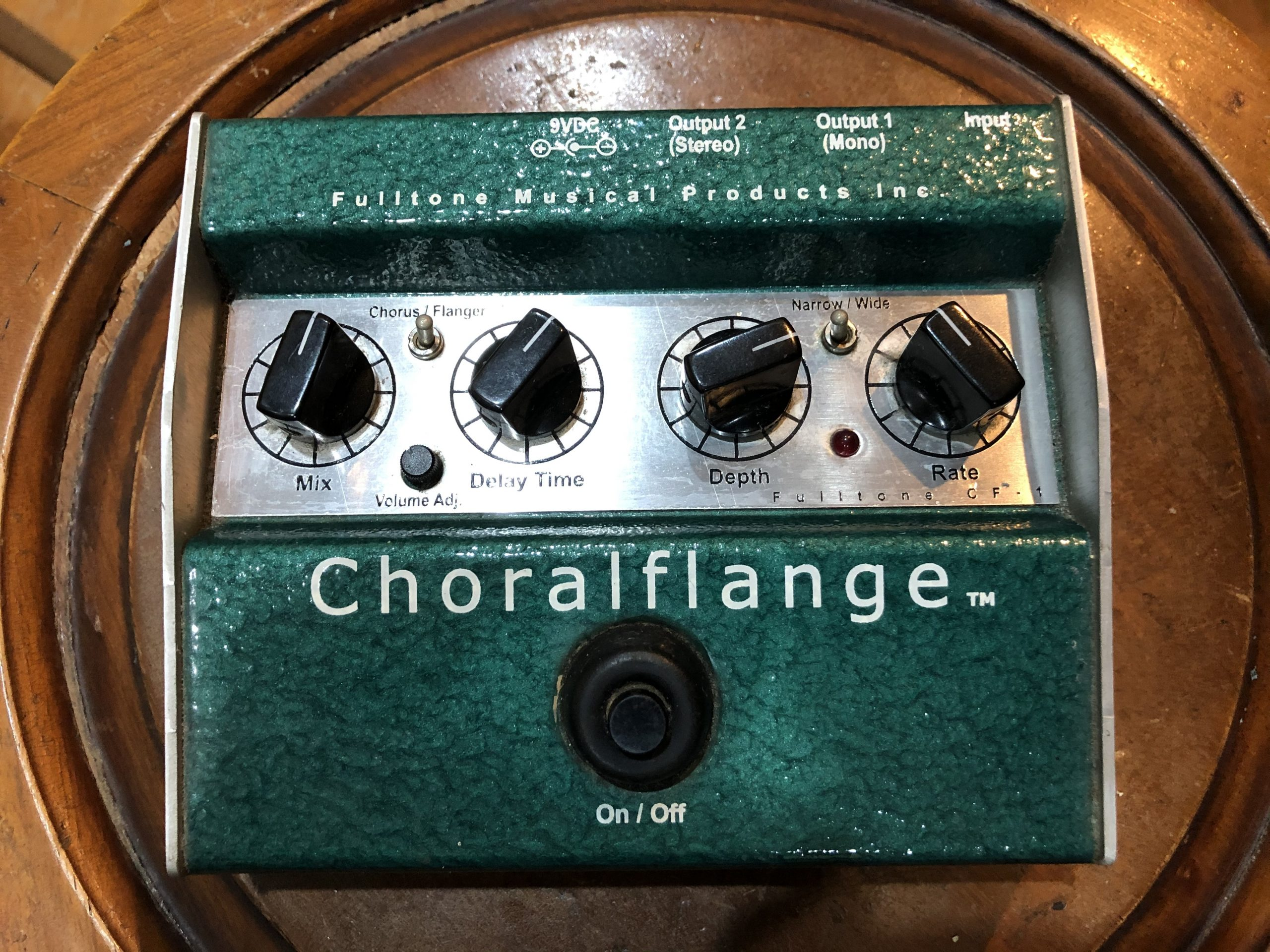 (已售出)Fulltone Choralflange