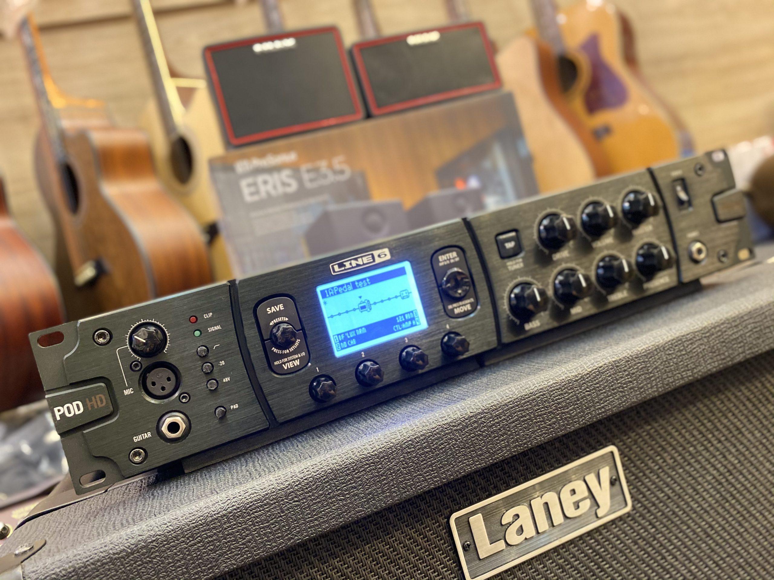 Line6 HD Pro X 機櫃式Rack 綜合模擬效果器
