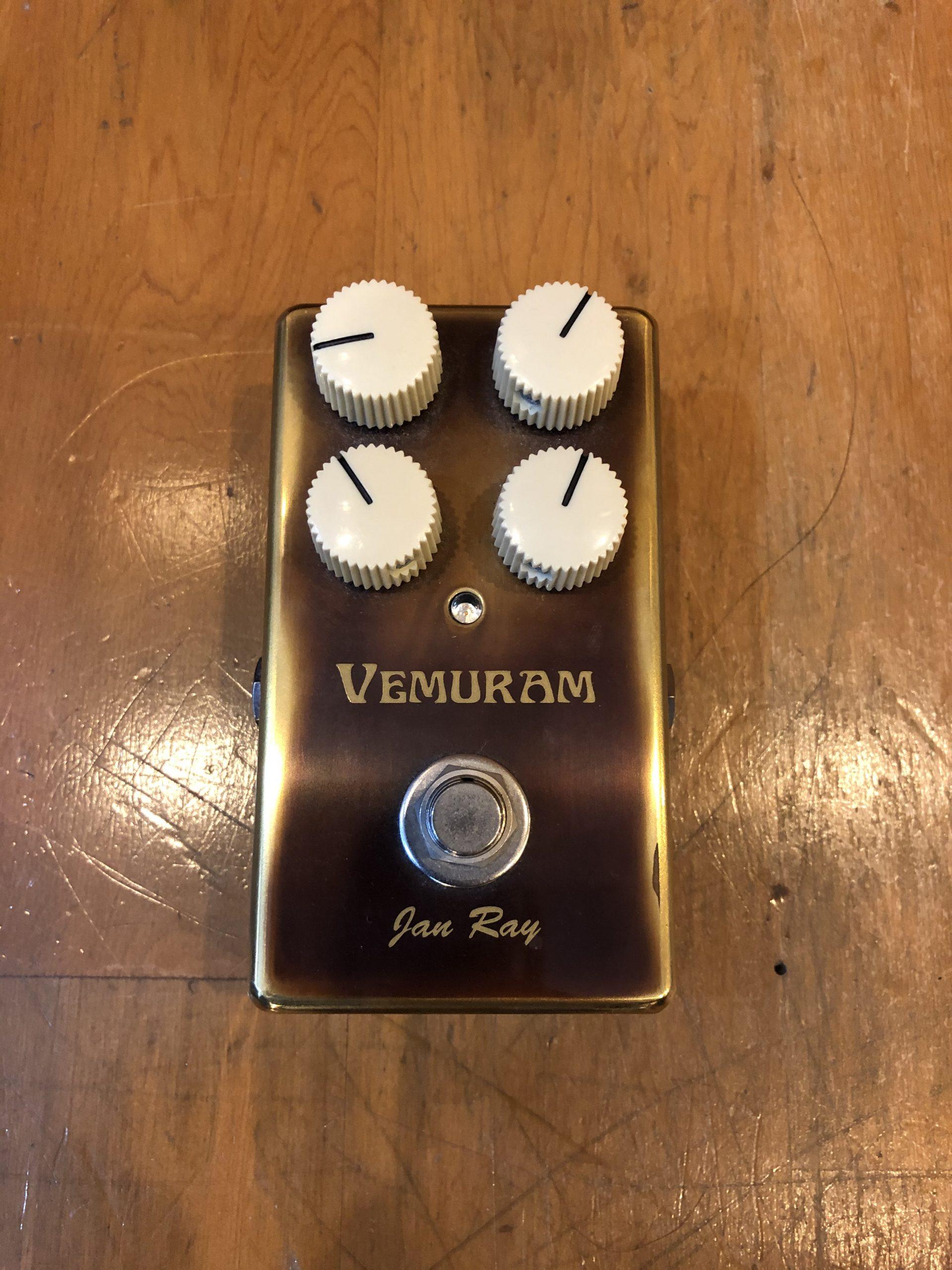 (已售出)Vemuram Jan Ray 手工破音效果器