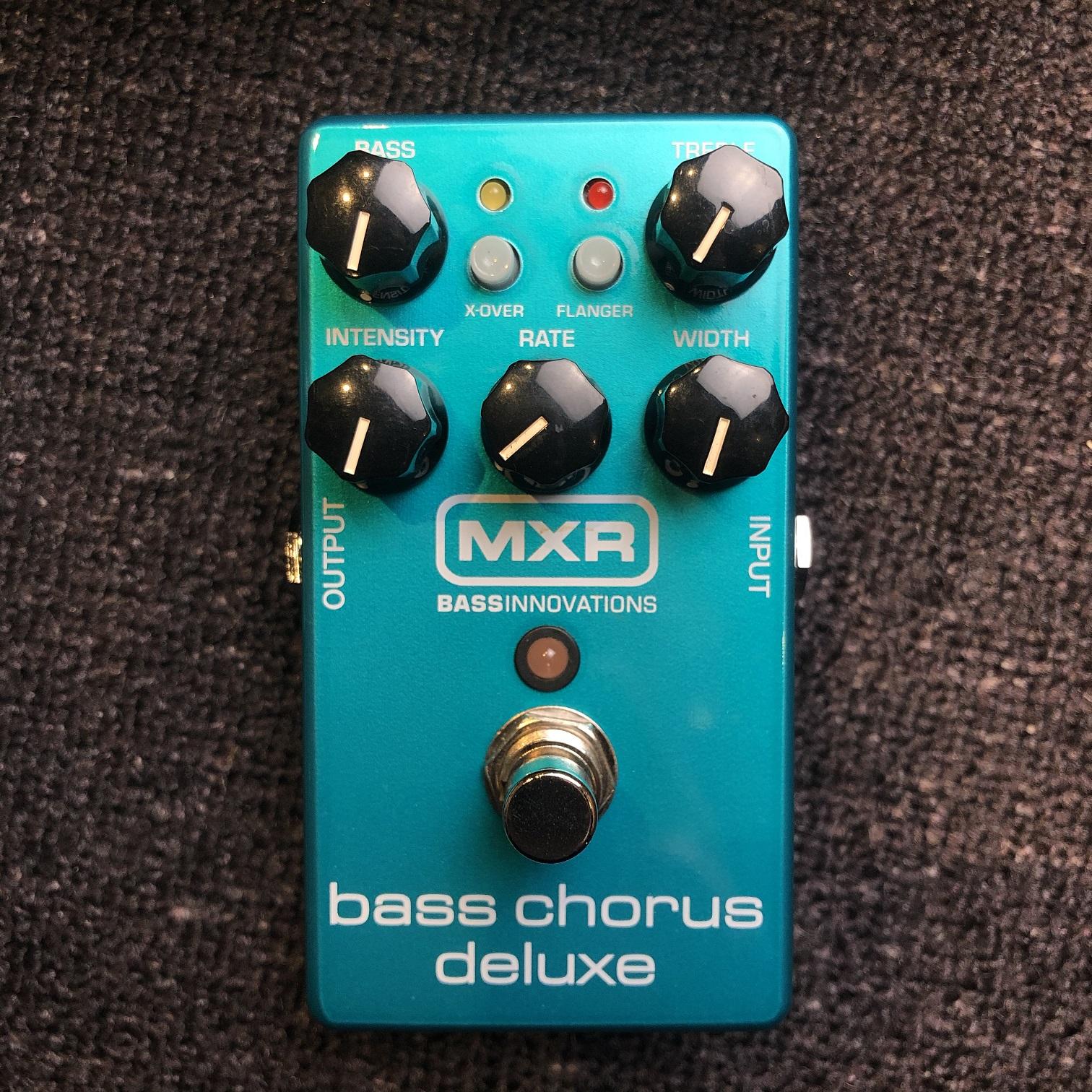 新年優惠 — MXR Bass Chorus Deluxe 效果器