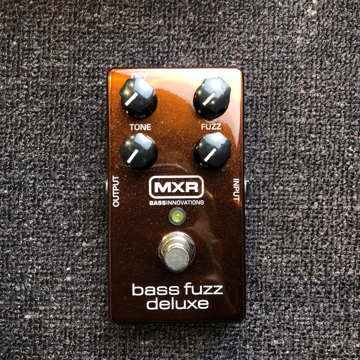 新年優惠 — MXR Bass Fuzz Deluxe