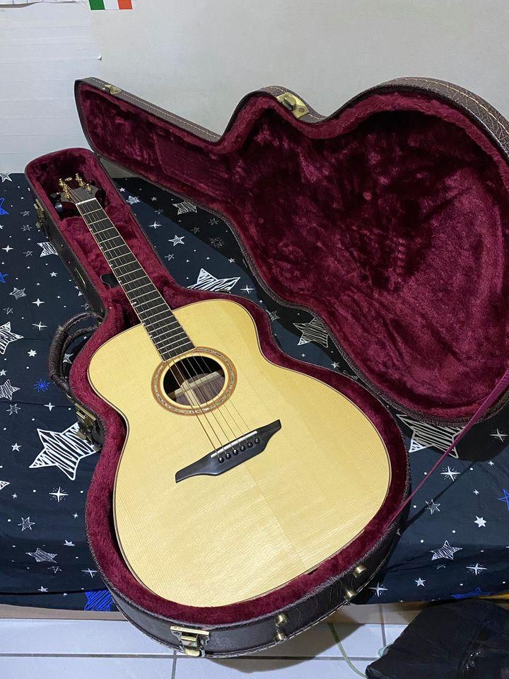 Gomans 000-S18 雲杉/玫瑰木 全單板手工木吉他 9.9成新