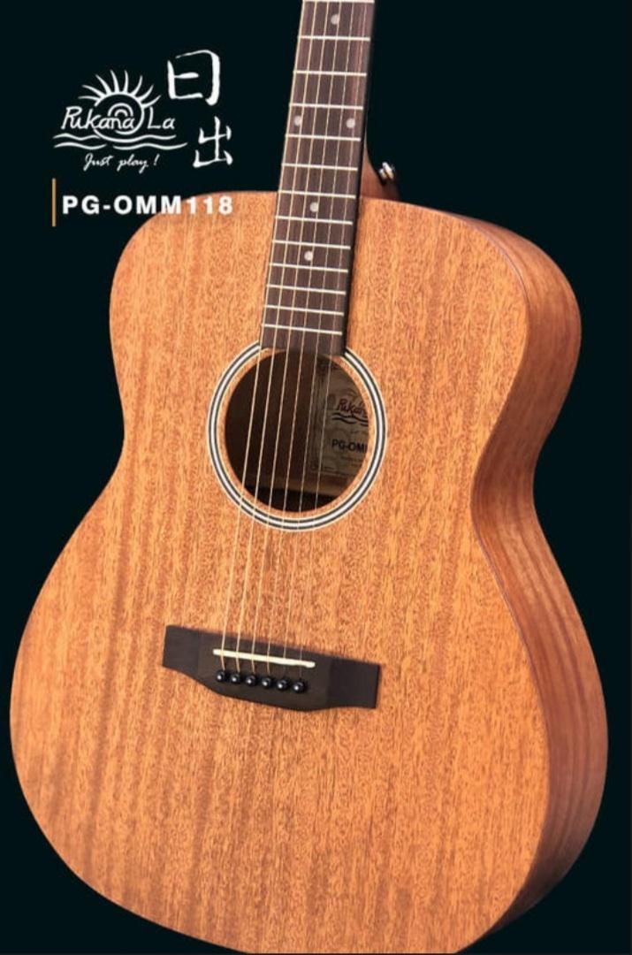 Pukanala PG-OMM118 全桃花心木 全單板木吉他