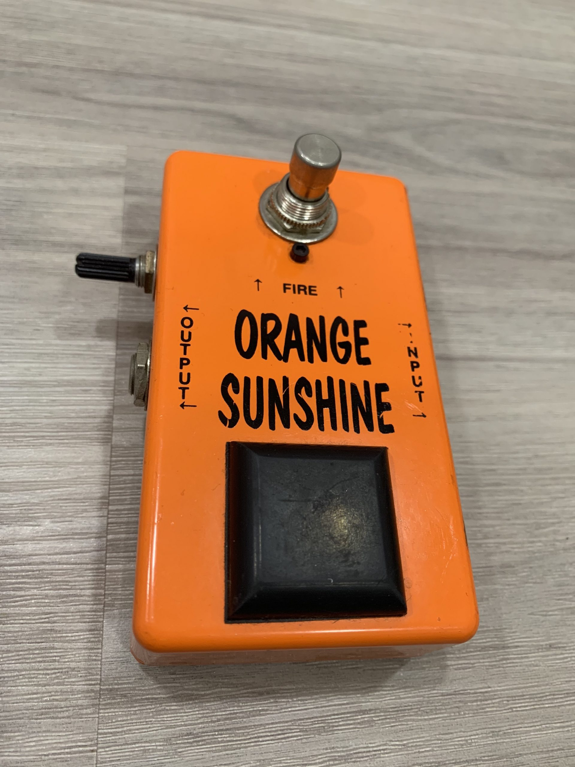 Vintage Technology Orange Sunshine (售出)