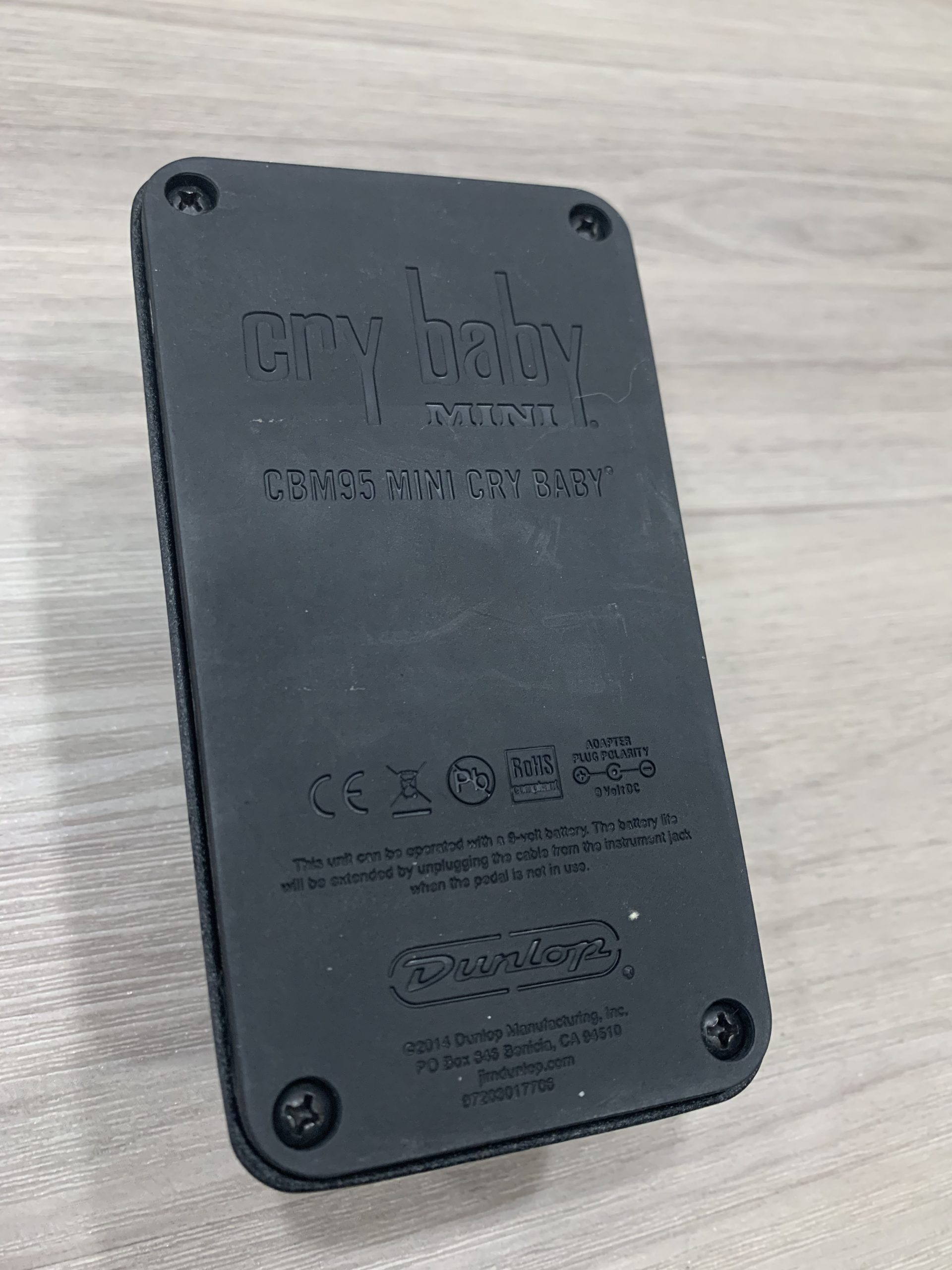Dunlop CBM-95 Crybaby Wah(售出)