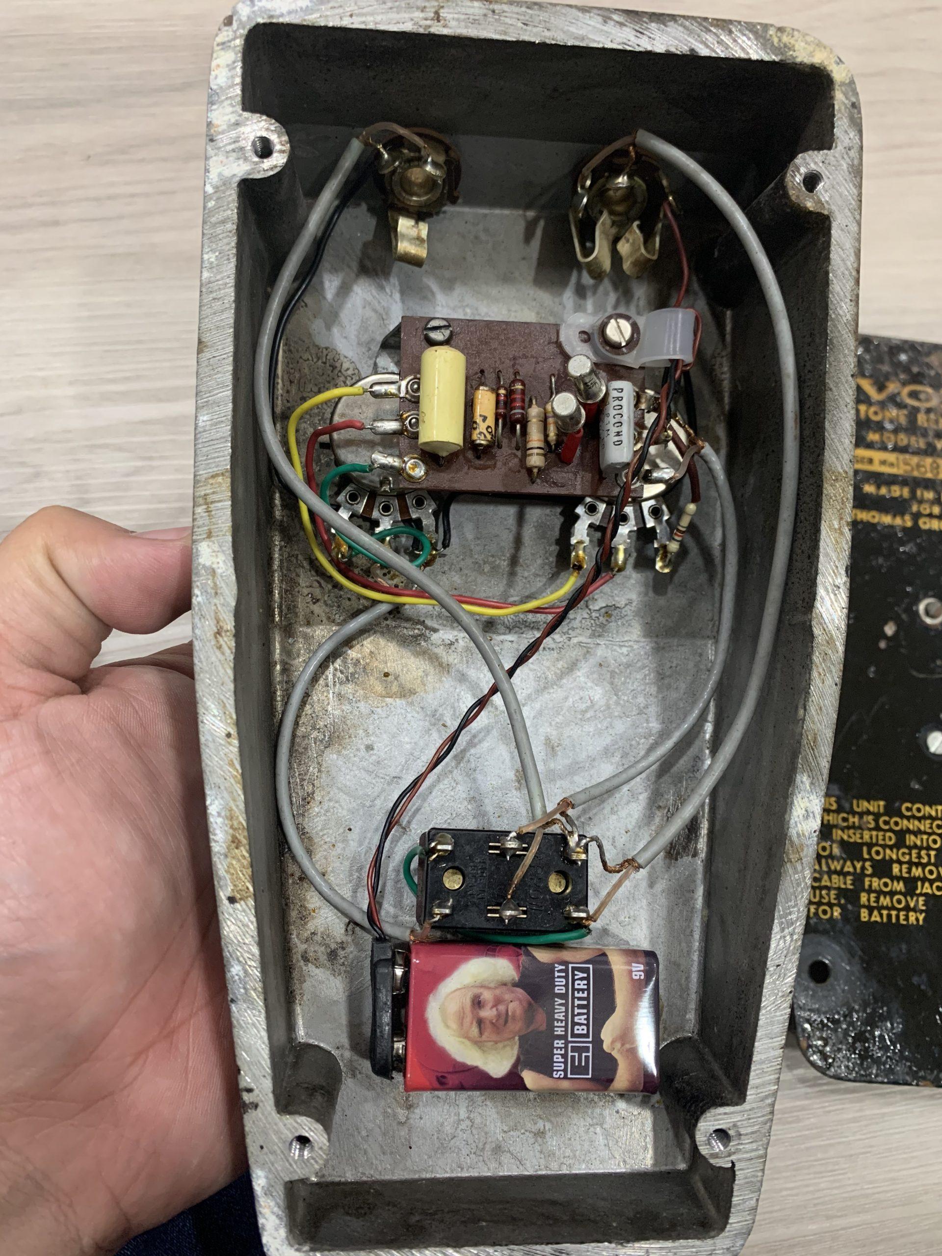 Vox V828 Tone Bender 1968