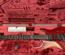 日廠Ibanez KIKO100 Transparent Ruby Red