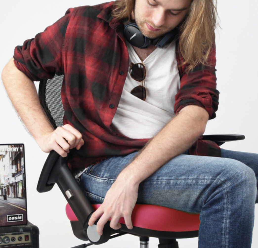 Wavebone Voyager I 人體工學樂手椅 (嗆椒紅 (缺貨中
