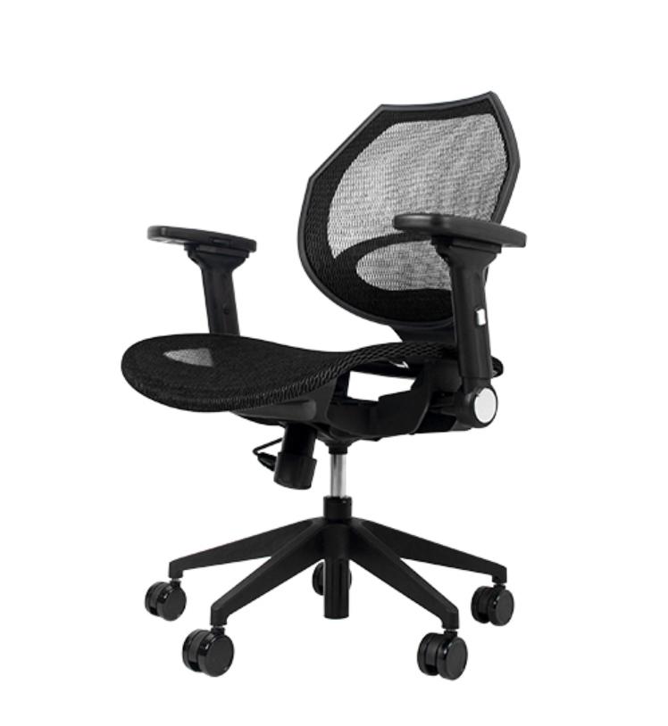 Wavebone Voyager I 人體工學樂手椅( 彈力網座 安息黑 (缺貨中