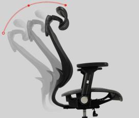 Wavebone Voyager II 人體工學椅高背款 泡綿座 (安息黑