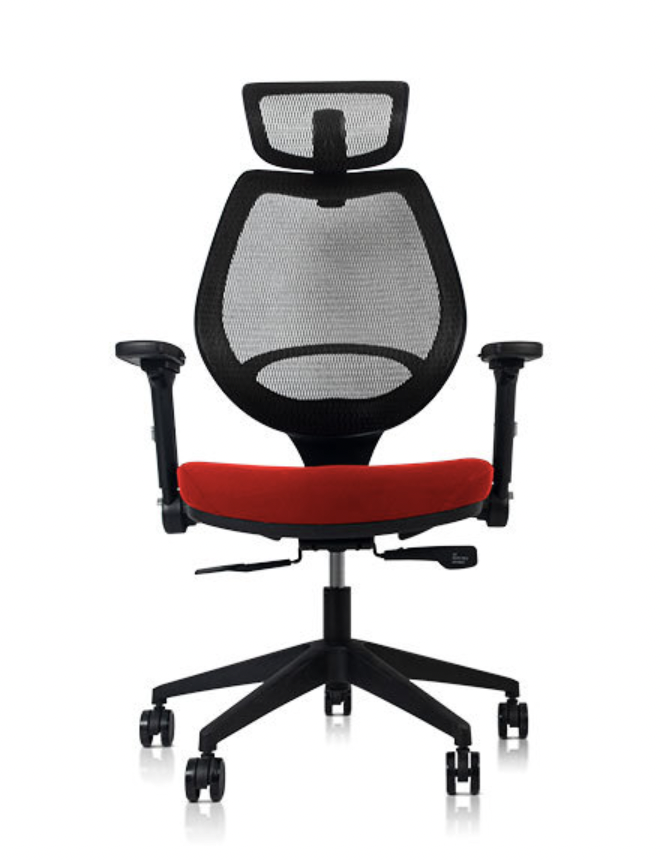 Wavebone Voyager II 人體工學樂手椅高背款 泡綿Q座(嗆椒紅