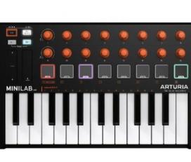 Arturia MiniLab MkII MIDI鍵盤 (限量橘旋鈕 )