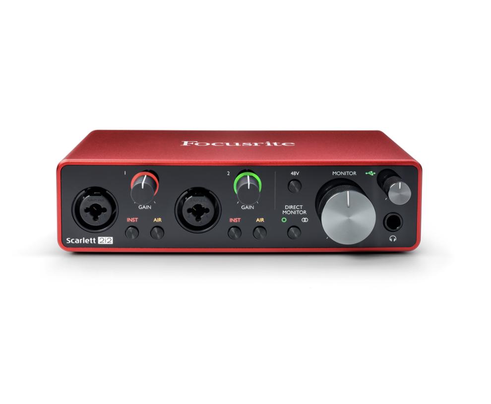 Focusrite Scarlett 2i2 3rd Gen USB 錄音介面