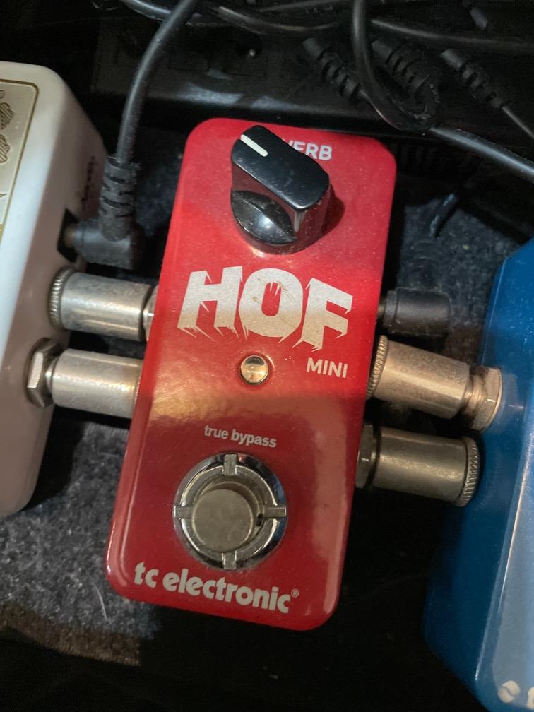 近全新TC Electric HOF Mini Reverb