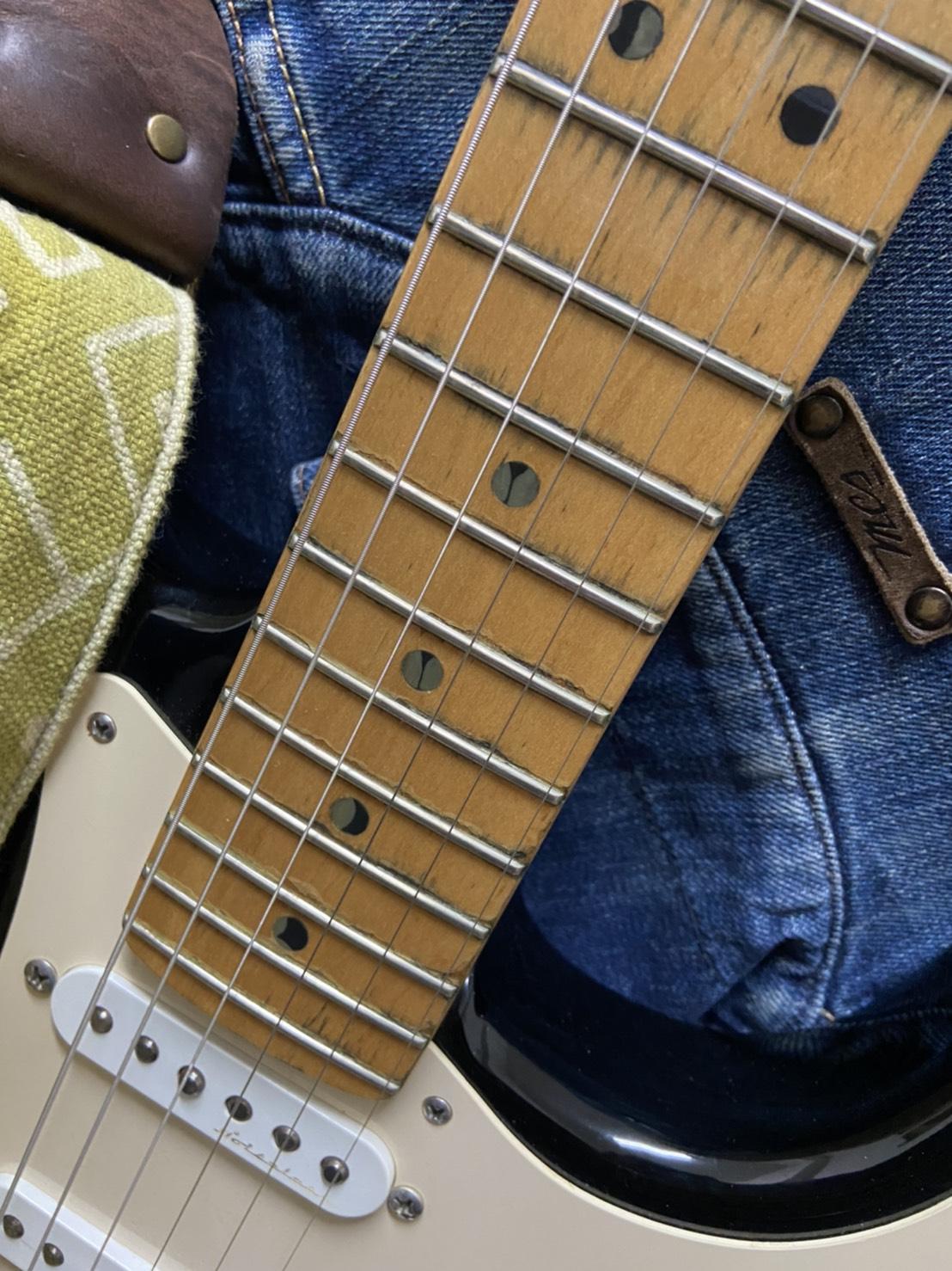 "USA Fender Eric Clapton Signature Stratocaster ""BLACKIE"""
