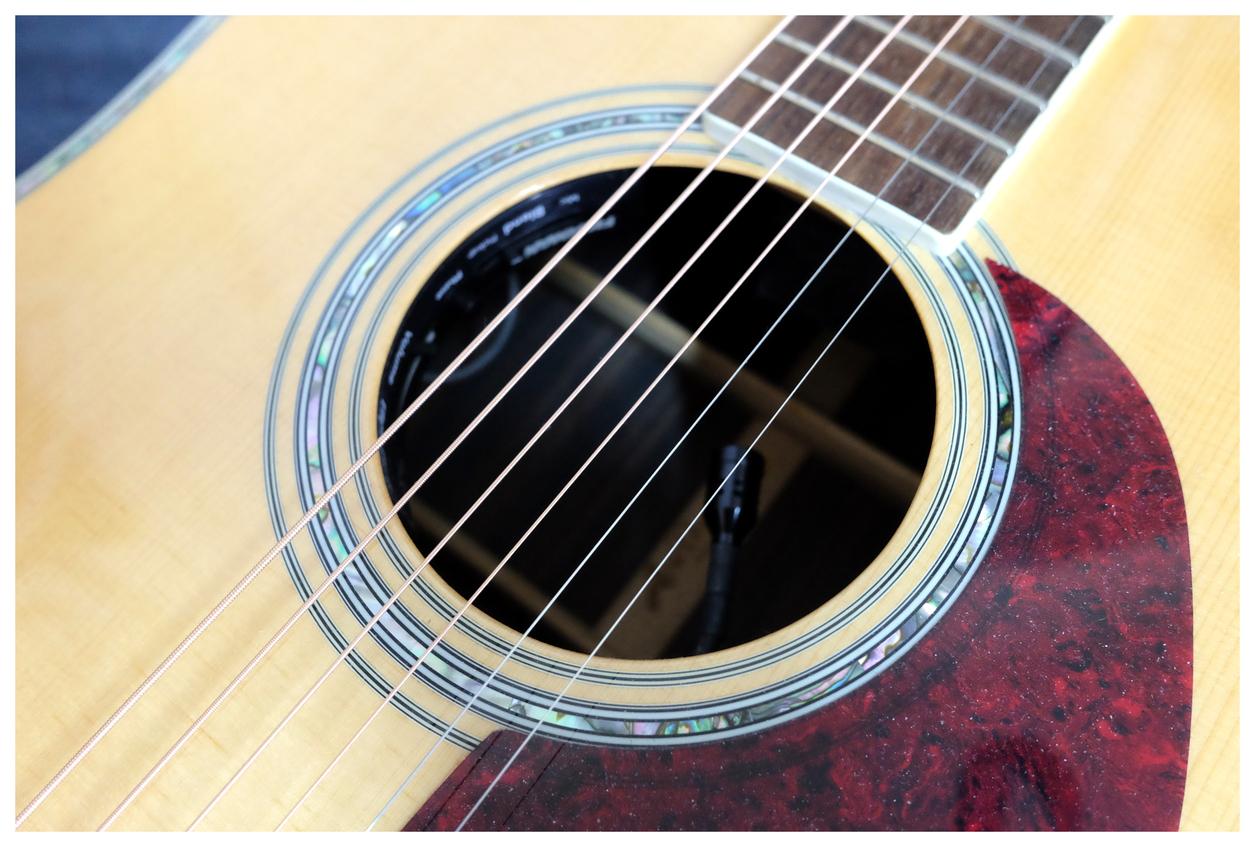 降價!! 5000!! 日本大廠Aria AD 80 全單板木吉他 含硬殼 拾音器