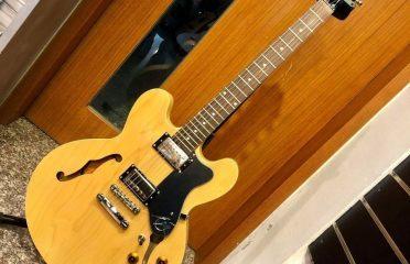Epiphone ES-335 DOT(Natural)爵士空心電吉他