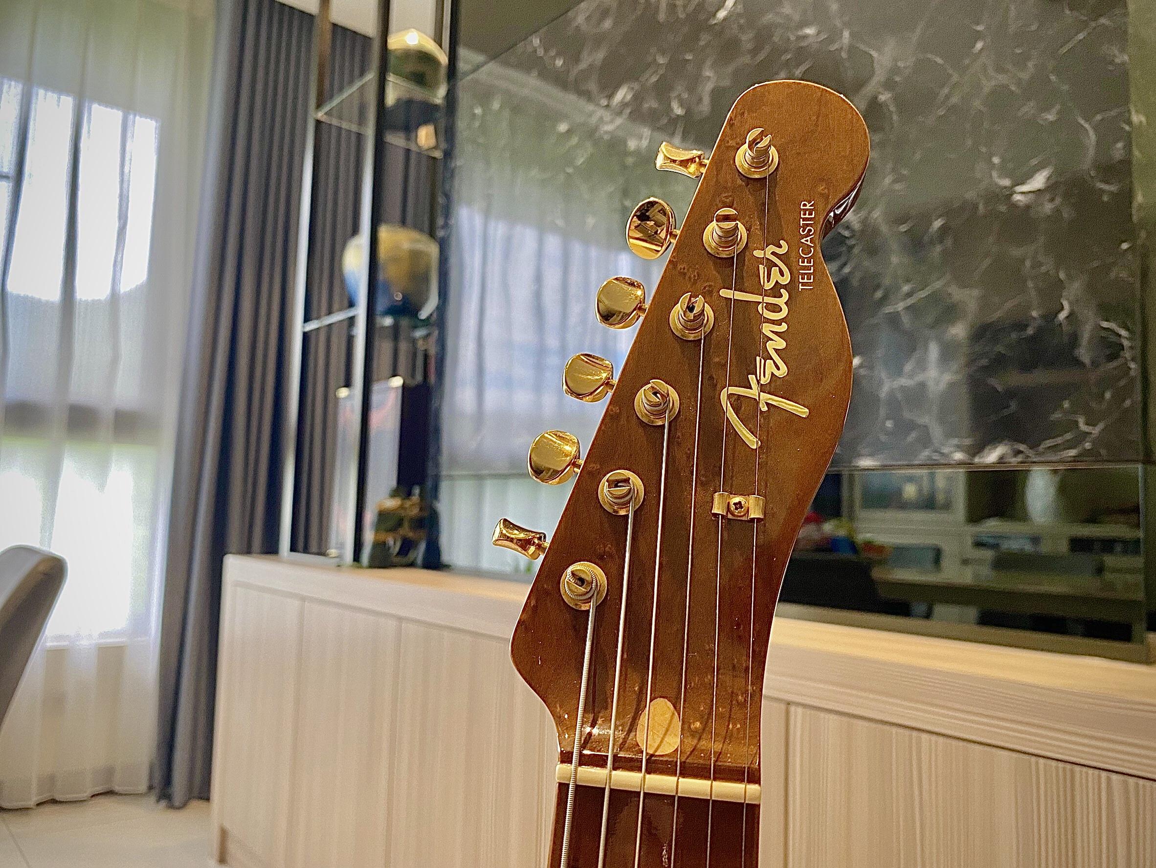 Fender 2015 custom shop okoume telecaster