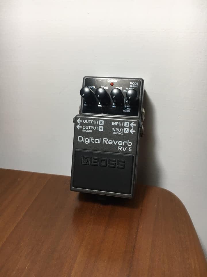 Boss Rv5 Digital Reverb 數位殘響效果器