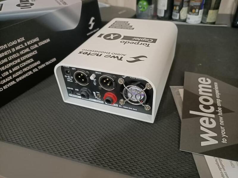 Two Notes Torpedo Captor X 8 Ohm 衰減器 音箱 loadbox