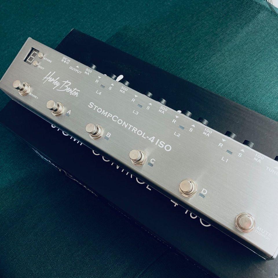 Harley Benton StompControl-4 ISO Loop Switcher 效果器迴路切換