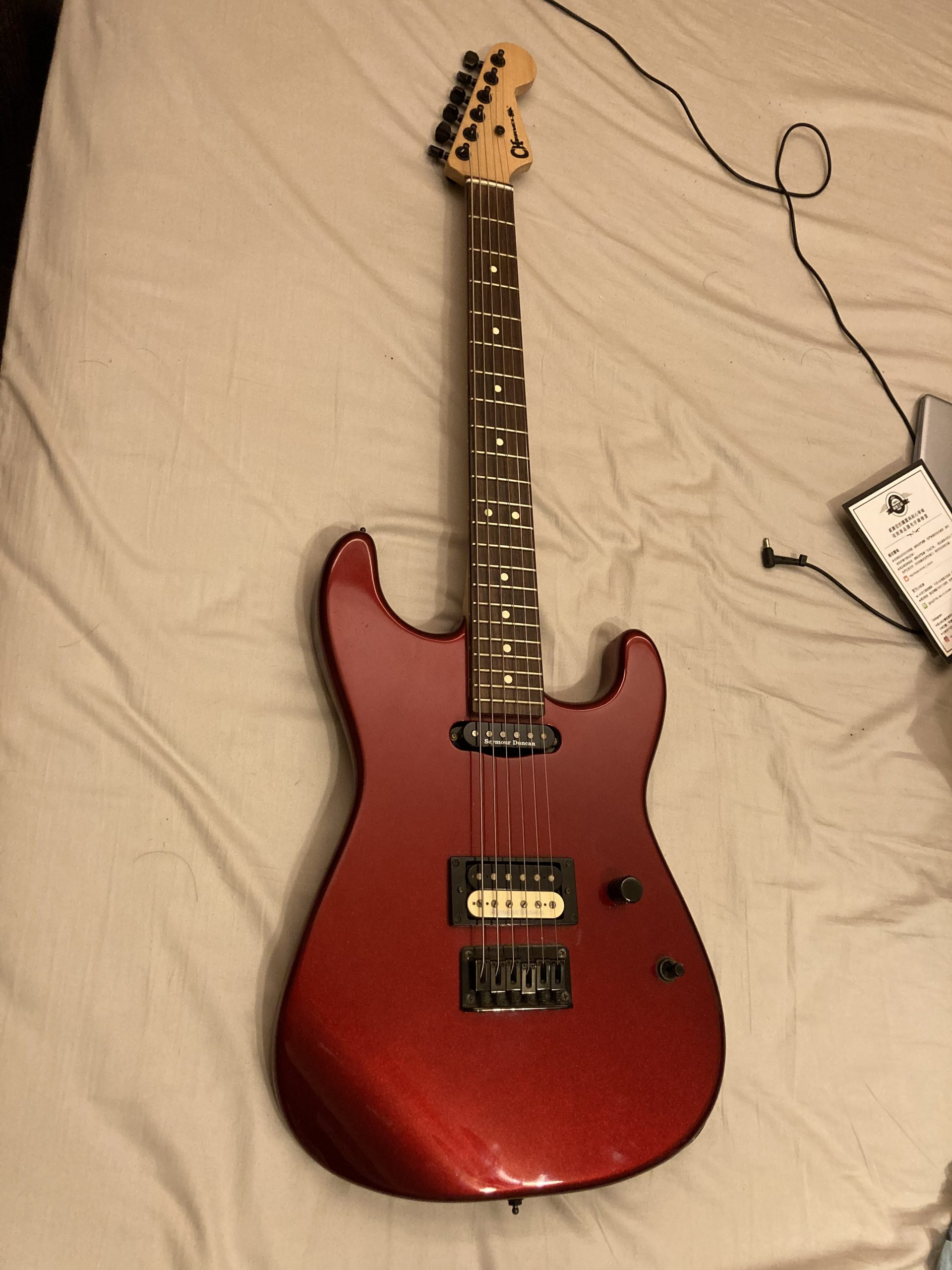 Charvel san dima made in mexico